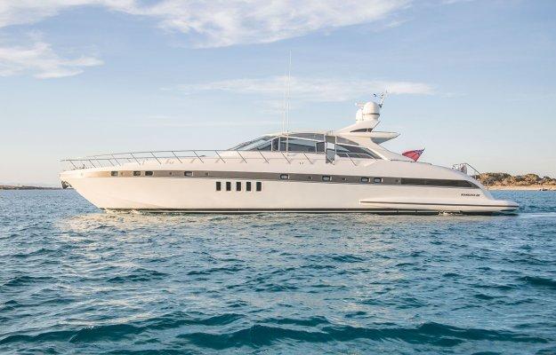 Mangusta 80 Day Charter Ibiza