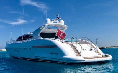 Alquiler Mangusta 108 Day Charter Ibiza